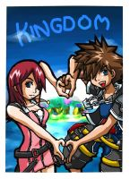 Kingdom Hearts by yii