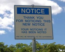 Funny sign 2 by LostRites