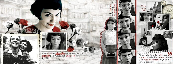 Facebook Cover: Amelie Poulain by LuanaF