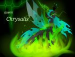 queen chrysalis wallpaper by NuttyPanutdy