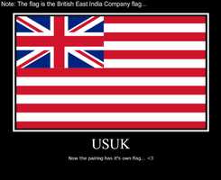 USUK Flag Demotivational by IcelandsOtaku