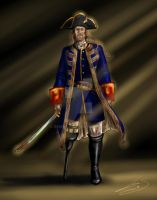 Captain Barbossa by Berende