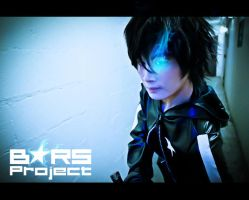 Black Rock Shooter - Kaito by Heartsfuzzhospital