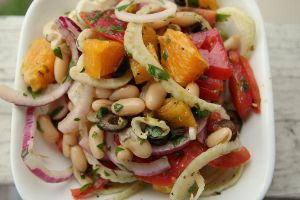 Mediterranean Salad w/ Orange by Chrissy-Daniels