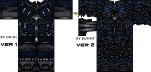 For a good friend , Oxide Armor Remake Preview by bunnyscream