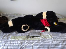 Life Size Umbreon Plush by Sareii
