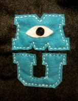 Monsters U Logo Patch by ToastyLynx