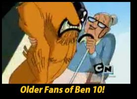 Everyone loves Ben 10 XD by Kalix5