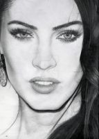 Megan fox close up by tomwright666