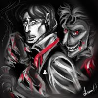 Dr Jekyll and Mr Hyde by Fidi-s-Art