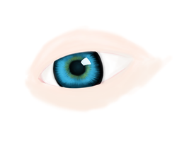 Was bored so I drew an eye. by TrisyDesign