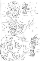 Winter Request - Snowball Fight by Chauvels