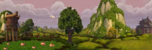 Valley of the Four Winds - Fruited Fields by Wishmasterok