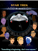 Star Trek:Absolution Full Crew Poster by S0LARBABY