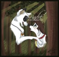 - Wolfy love - by cindre