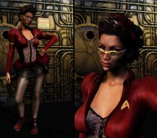 Uhura Steampunked by mylochka