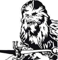 Chewbacca Vector by Swaptrick