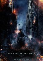 The Dark Knight Rises Poster 5 by visuasys