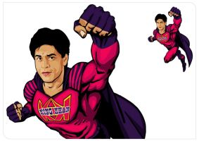 SRK SUPER HERO by jagatvyas