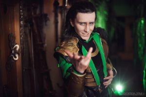 Loki. Join my side by TheIdeaFix