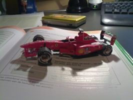 Formule 1 papercraft by Marlous2604