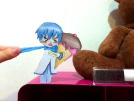 KAITO Paper child - It's mine by mushroomgirl3