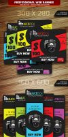 Web Banner Ads by calwincalwin