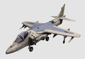 Harrier Jet by Jorgeg3D