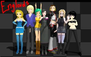 Engloids -COMPLETE- :D by TwilightMarth