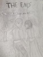 The school of good and evil Tedros and Agatha by jok51