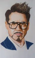 Robert Downey Jr portrait by Livrin17