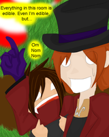 Willy Wonka is yummy by Kurisuti-chan