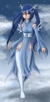 Maiden of the sky by FIavie