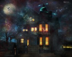 Haunted House by Marilis5604