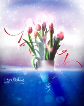 + Happy Birthday + by aamran