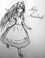 Alice in Musicland by LuminaPluvia