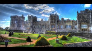 Windsor Castle - HDR by NeroTheViper