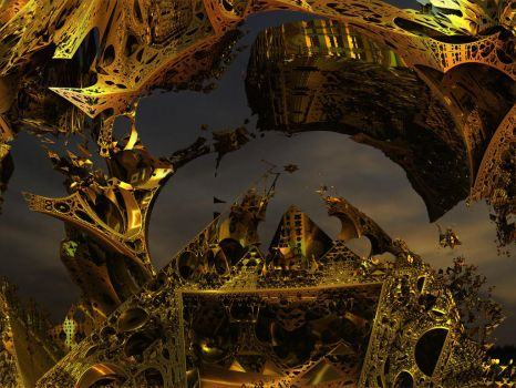 Cathedral of the Masters of Chaos and Symmetry by PhotoComix2