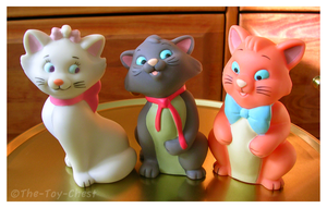 Aristocats Family - Kittens by The-Toy-Chest