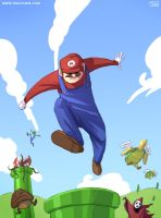 Mario Bros by Tohad