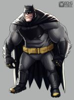 Buffin' Batffleck by BongzBerry