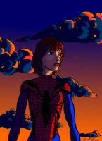 The Amazing Spider-Girl by Jorell-Rivera