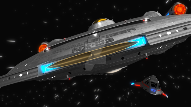 NX-03 and Delta Flyer - Cycles by Davros-the-2nd