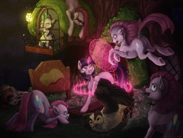 Guardians of the Library by Koviry