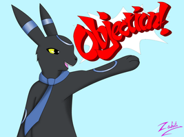 Lapis Umbreon OBJECTION! ~ REQUEST by TheDragonsCove