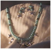 Sea Star Necklace by Glori305