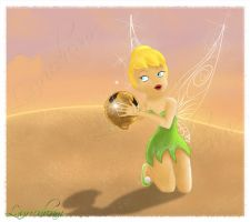 Disney Fairies - Tinkerbell by Laurine-Tellier