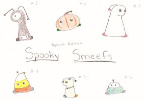 FREE Adoptable Spooky Smeefs Batch [CLOSED] by No-Aengel