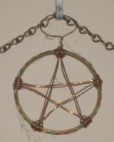 Wire-Wrap Pentacle by Windthin