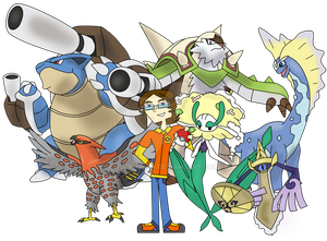 Fer, the New Kalos League Champion by Luck-Lupin